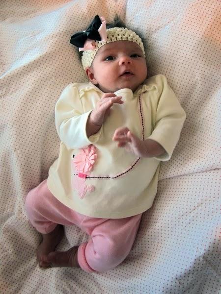 Photo bébé 1 mois