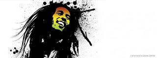 Capa para facebook Bob Marley