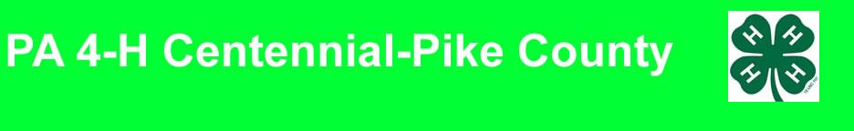 PA 4-H Centennial-Pike County