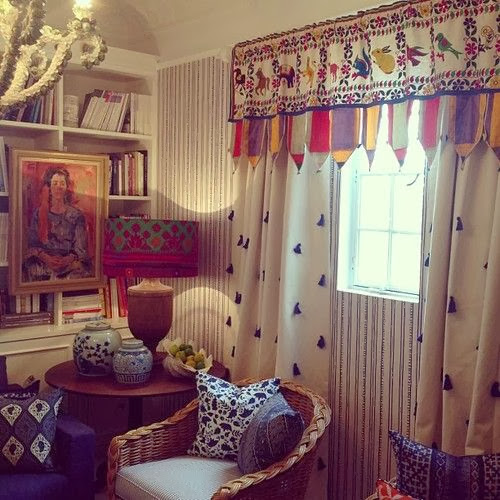 anna spiro tasseled curtains