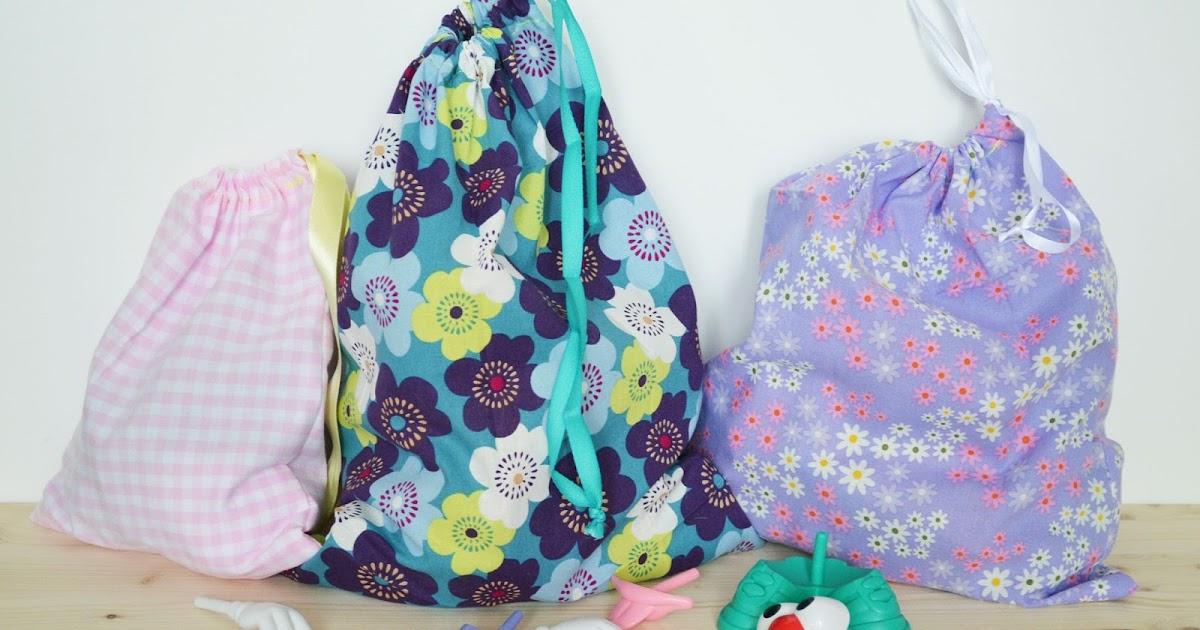 des sacs minute en tissus pour jouets lily 39 s little factory blog diy bretagne. Black Bedroom Furniture Sets. Home Design Ideas