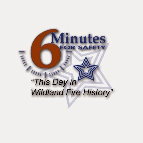 This Day in Wildland Fire History logo