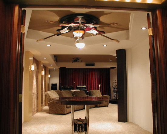 Intira design music for your eyes one day when i have lots of money with nothing better to do with it i will design a home theater call it imax and hang guitars as a fan on my ceiling mozeypictures Choice Image