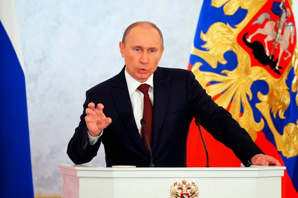 Президент России Путин не намерен менять свою политику по отношению к Украине