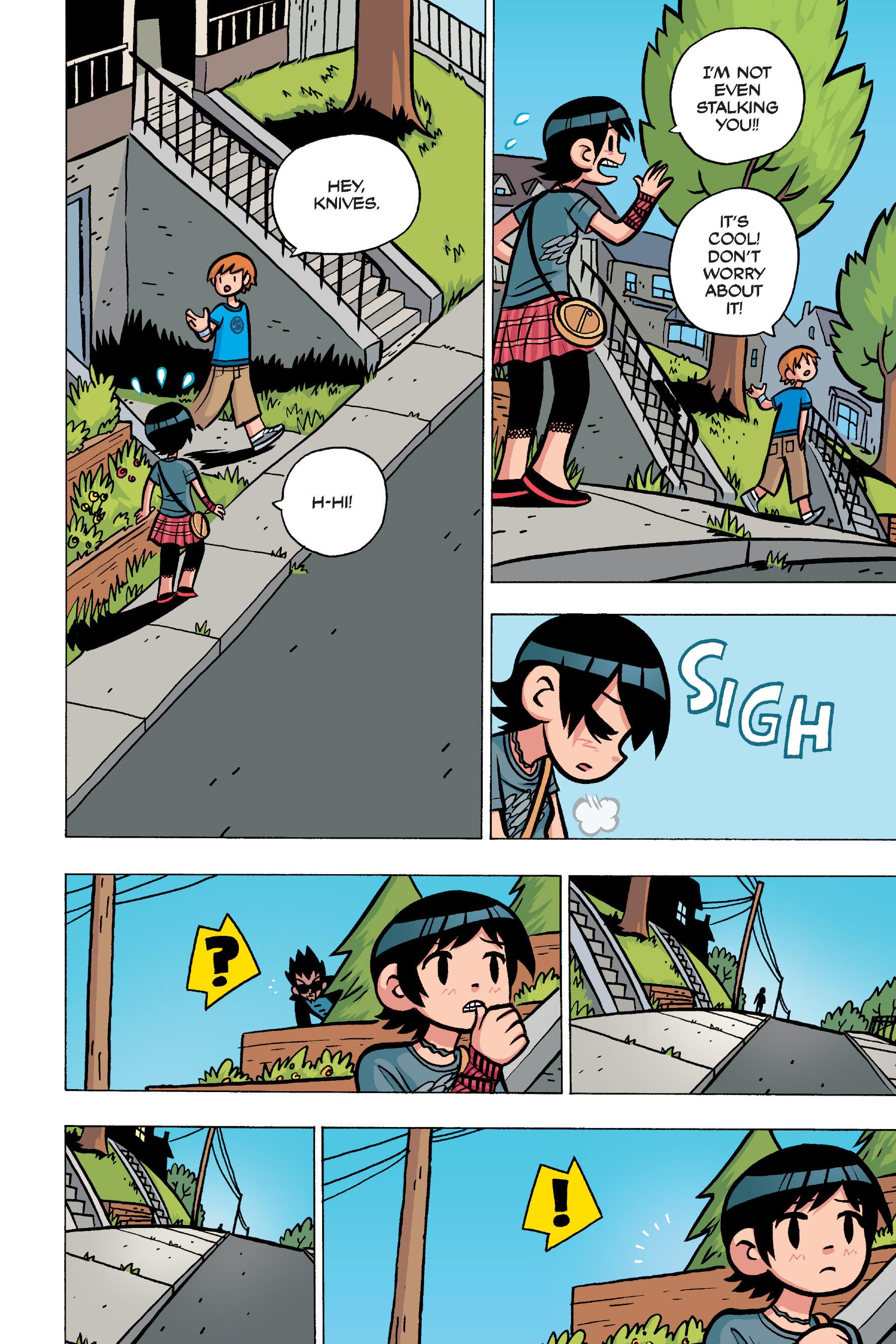 Read online Scott Pilgrim comic -  Issue #4 - 58