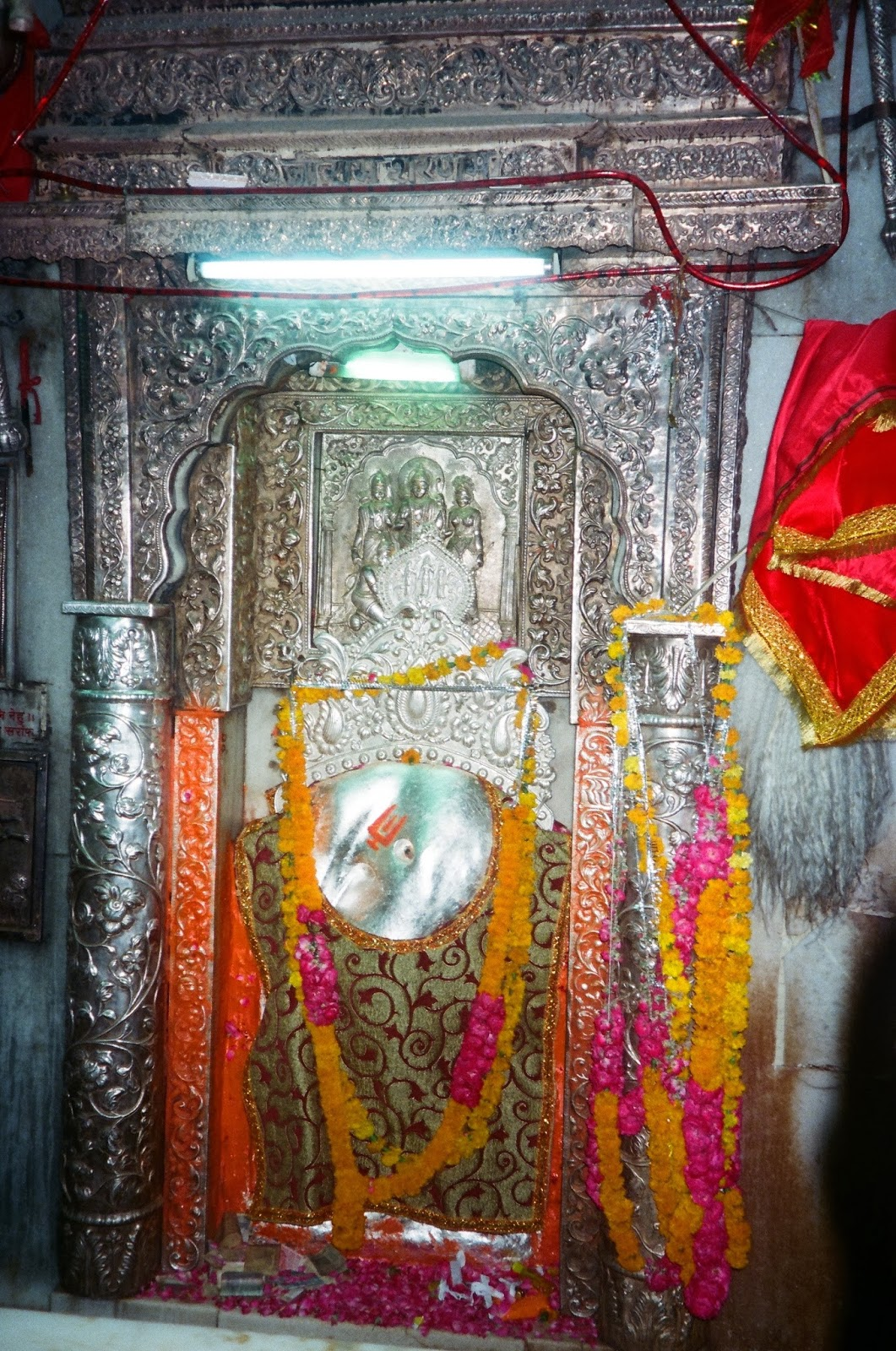Self-manifested idol of Shri Prachin  Hanuman Mandir- New Delhi
