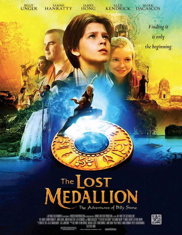 La película The Lost Medallion: The Adventures of Billy Stone