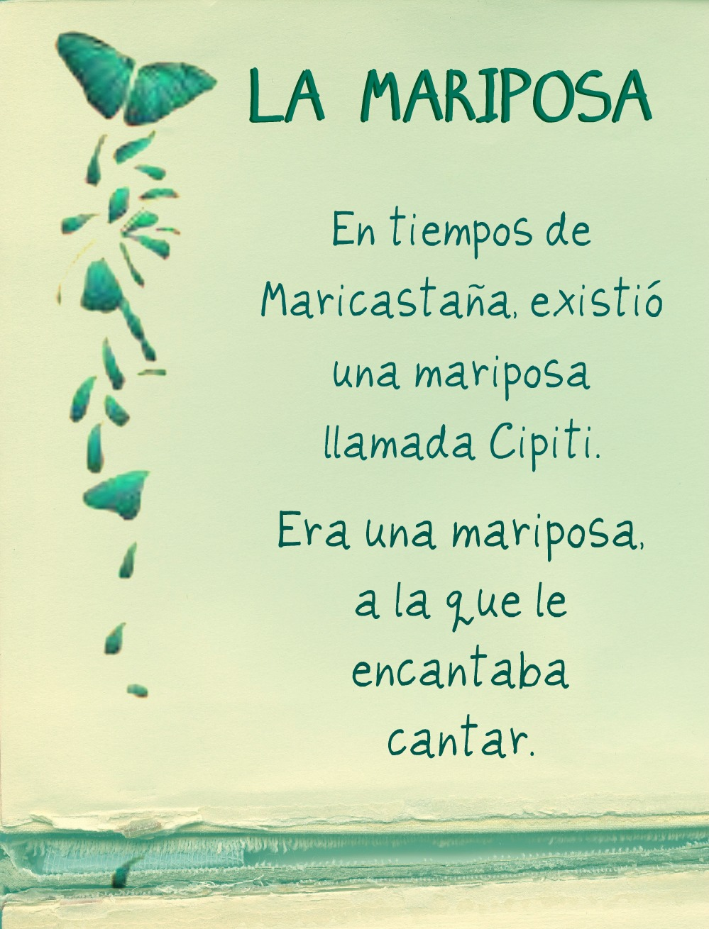 Poemas Cortos De Las Mariposas