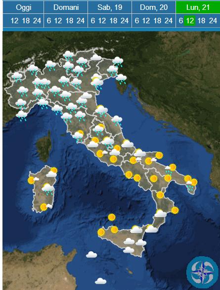 Previsioni Meteo Pasqua: gita sì, ma con l'ombrello