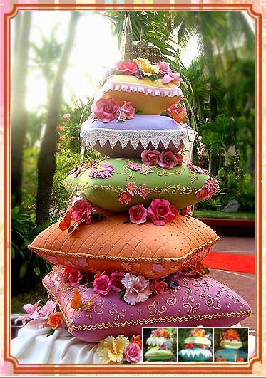 ... this is a real wedding cake from the pink cake box it s so pretty so