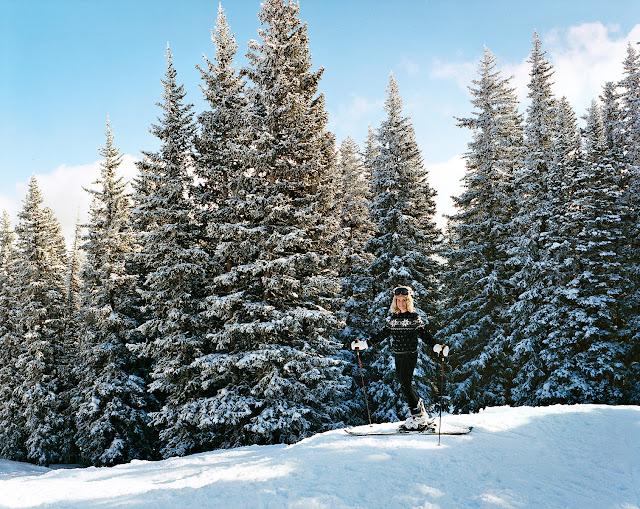 aerin lauder ski aspen