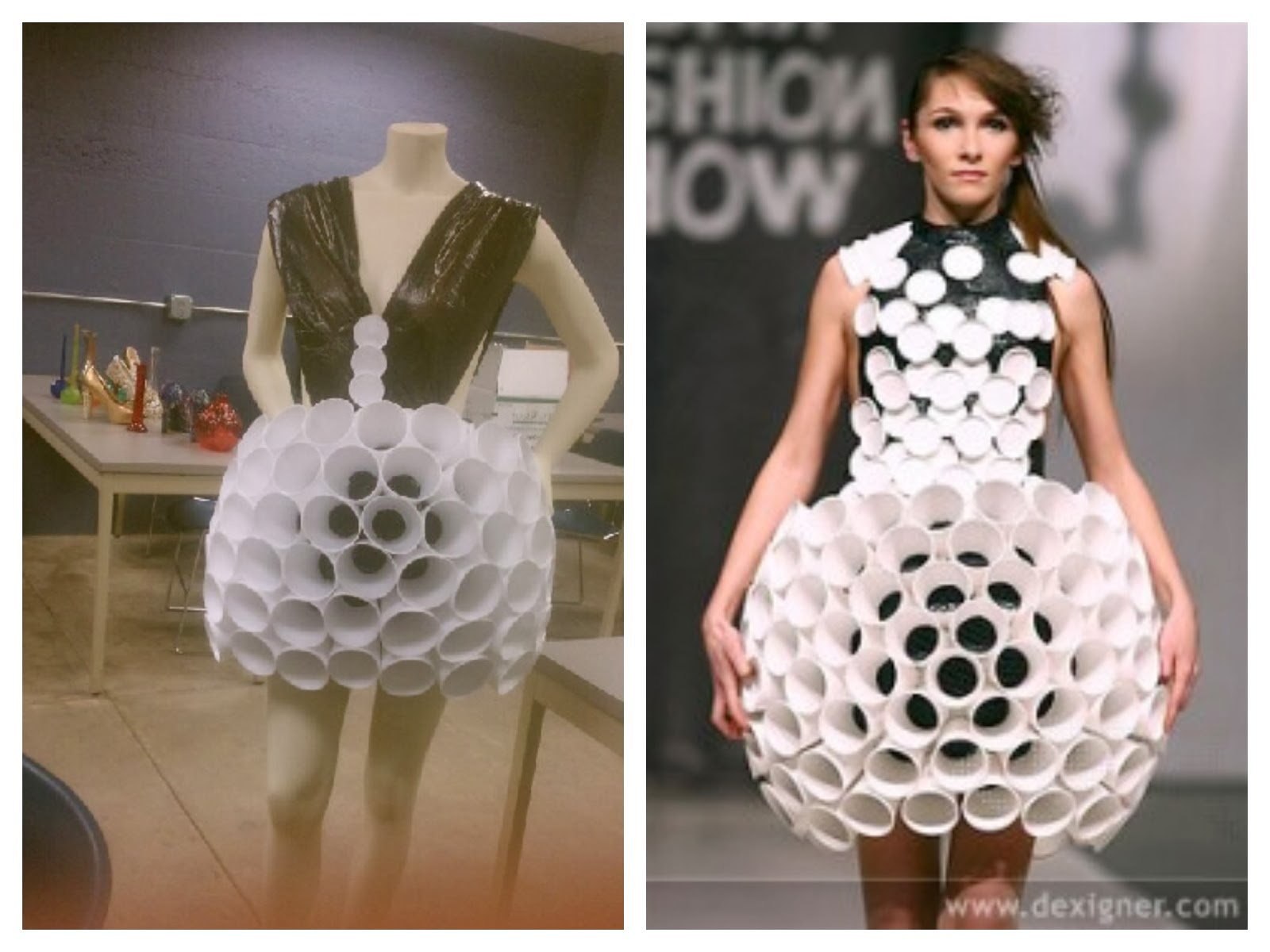 A Is Creating Amazing Dresses Made Out Of The Weirdest