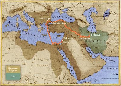 маршрут ссылки Бахауллы