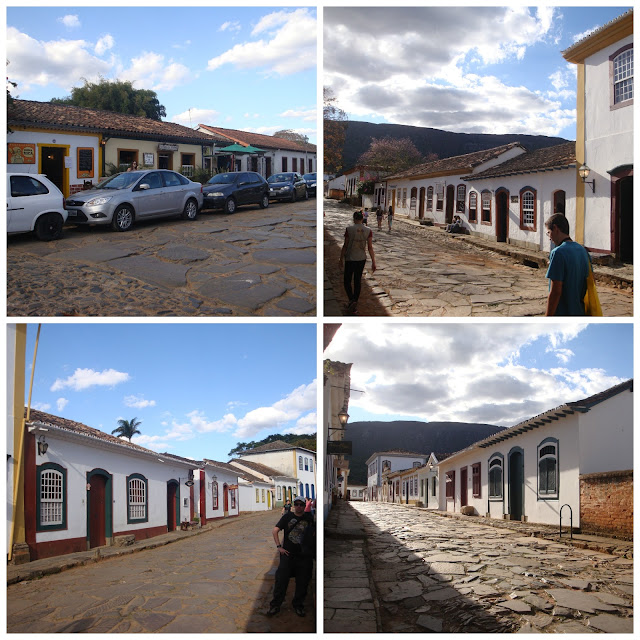 andando pelas ruas de Tiradentes - MG