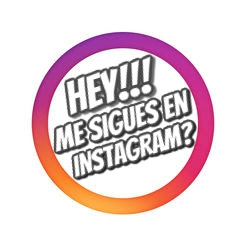 HEY!!! SÍGUEME EN INSTAGRAM