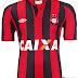 Atlético Paranaense apresenta suas camisas para 2013