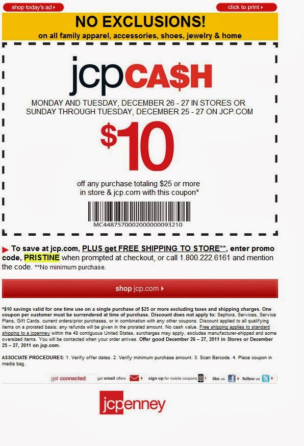 Jc penney coupon code