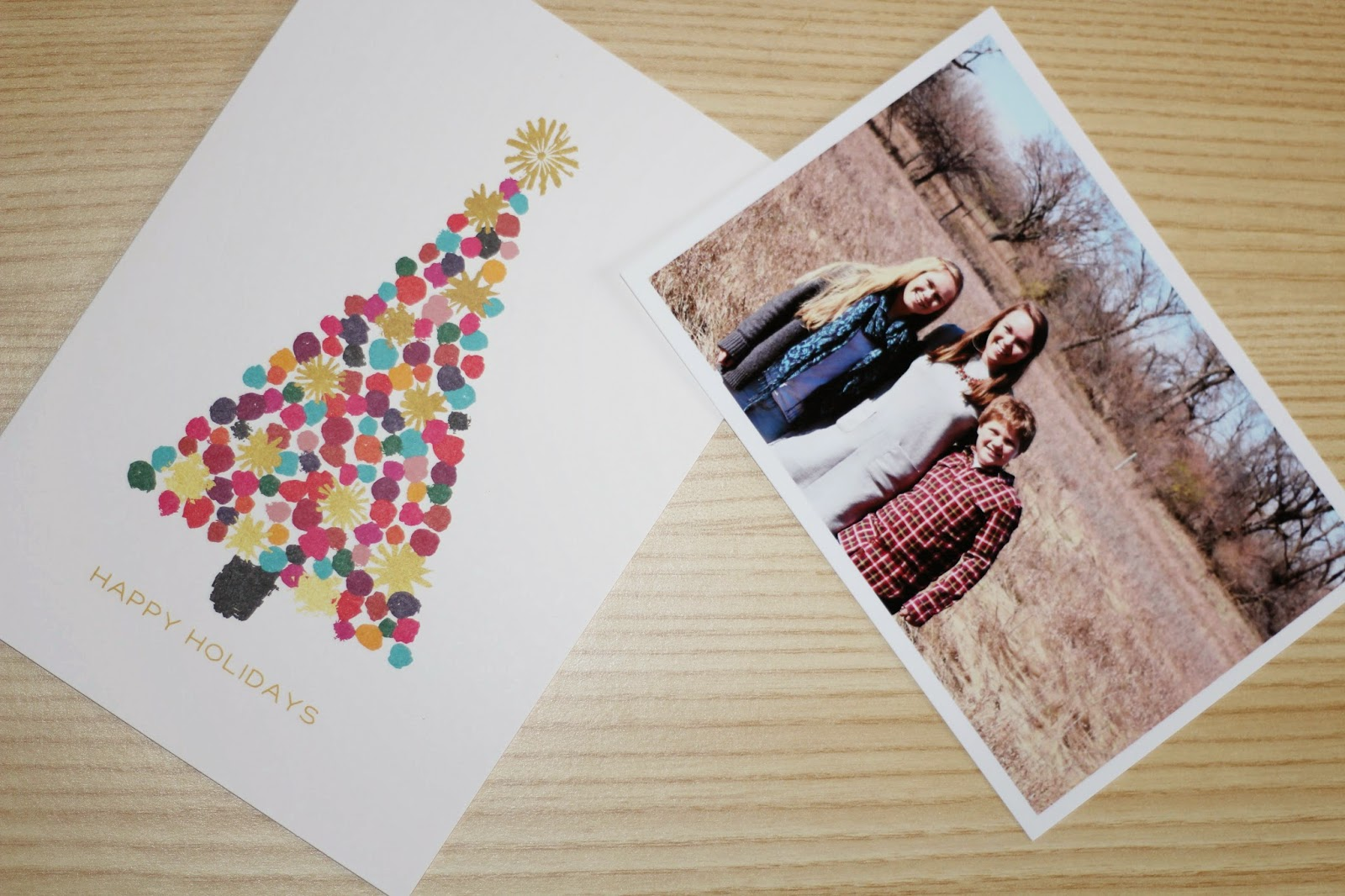 Christmas Card Reveal: Blogmas14\' Day 20 - Tay Meets World