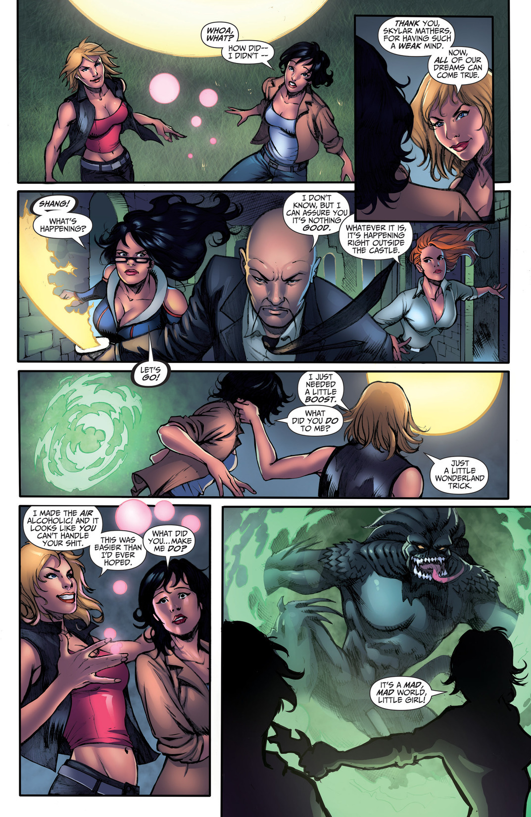 Grimm Fairy Tales (2005) Issue #110 #113 - English 12