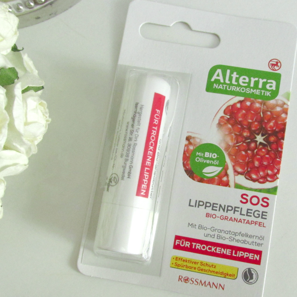 Alterra SOS Lippenpflege Bio-Granatapfel - 4.5g für ca. 1 Euro