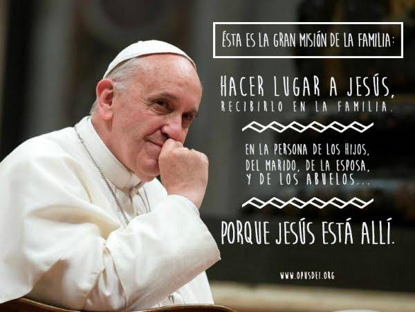 """""""Las tres palabras para la familia"""" Catequesis del Papa Francisco"""
