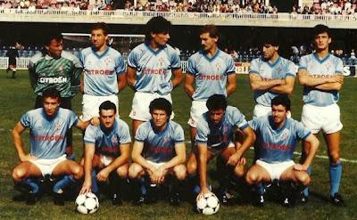 El Celta ganó al Valencia el 4 de enero de 1987 en Balaídos