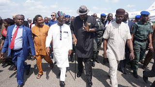 Why we visited Ortom – Dickson [PHOTOS]