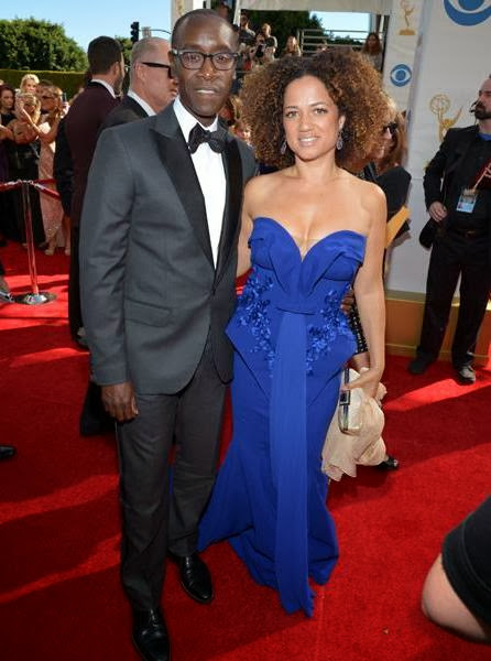 Don Cheadle y Bridgid Coulter