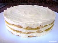 tarta tiramisú desmoldada