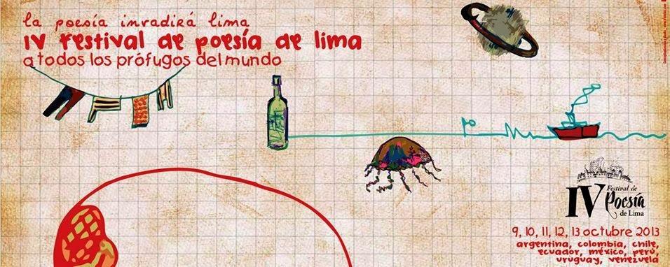 IV Festival de Poesía de Lima - 9 al 13 de octubre