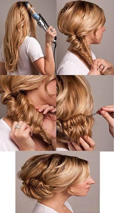 Muyvariadocom Peinados Faciles Y Rapidos Vii Parte Peinado Para - Como-hacer-peinados-de-fiesta-faciles-paso-a-paso
