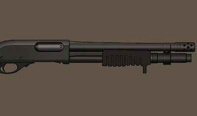 firearm art, design, rendering, Resolution indie author