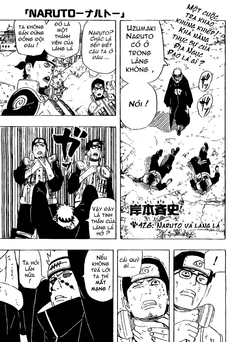 Naruto chap 426 Trang 3 - Mangak.info