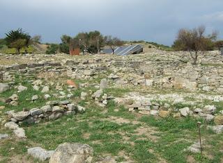 Bild 6: Blick über das Ausgrabungsgelände von Herakleia Minoa