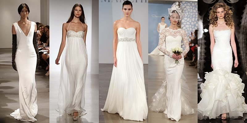 Spring Summer 2014 Wedding Dresses Fashion Trends