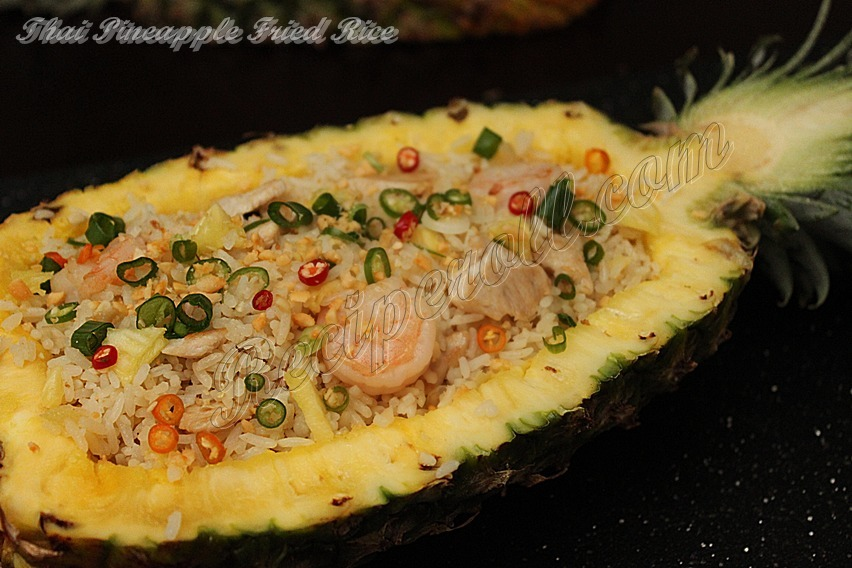 Thai Pineapple Fried Rice | Pineapple Fried Rice With Thai Basil ...