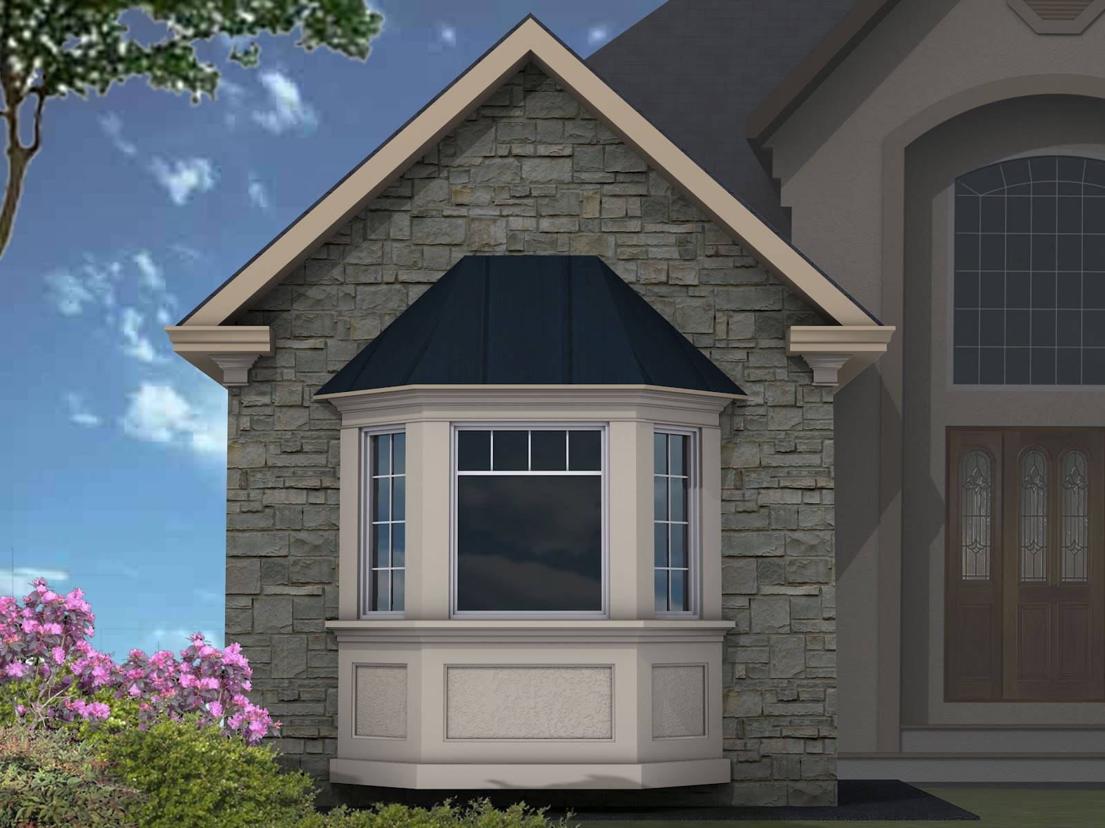 Sight on site the official blog of mouldex exterior for Exterior window designs gallery
