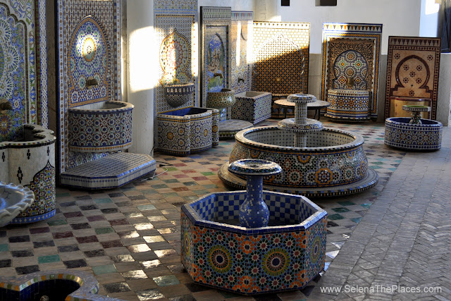 Pottery and Tannery of Fes, Morocco