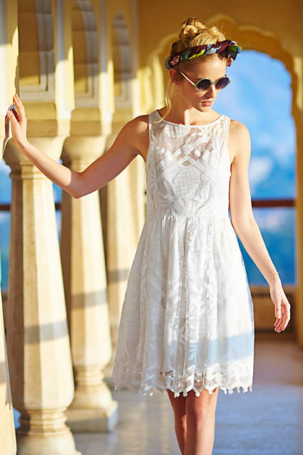anthropologie pina lace dress free shipping