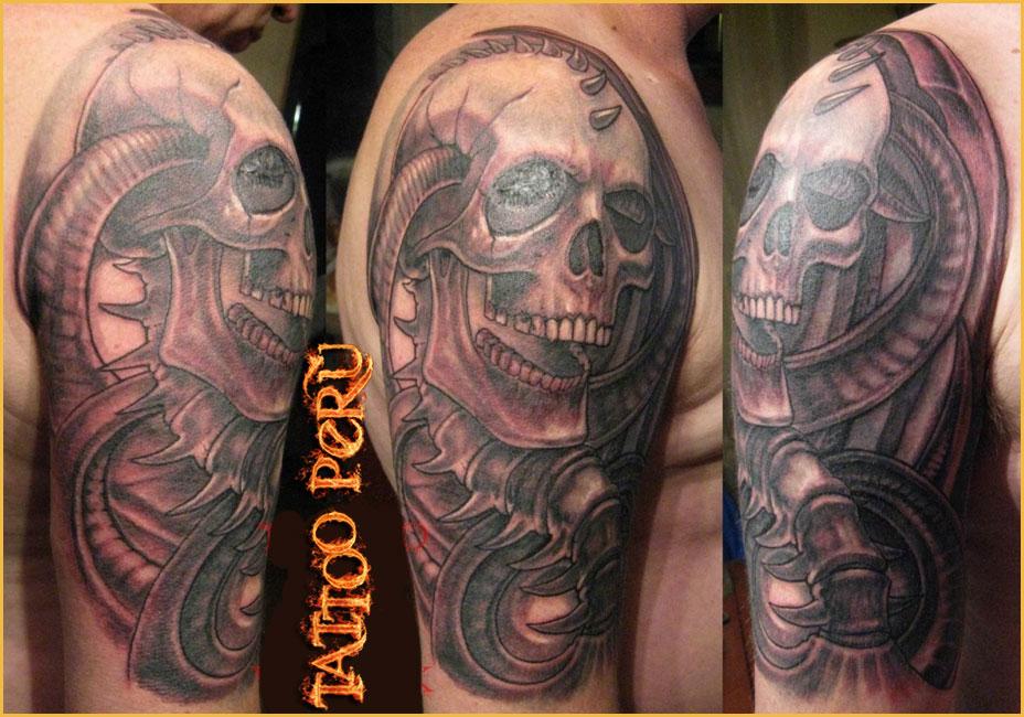 Tatuajes: Historia de los Tatuajes. Disenos_de_craneos