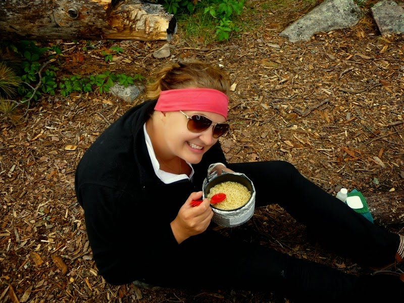 nothing like a cuppa hot noodle soup in the BWCAW