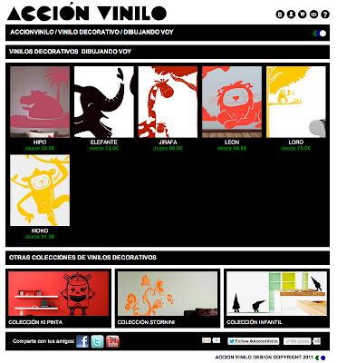 http://www.accionvinilo.com/vinilos/coleccion/23/dibujando_voy