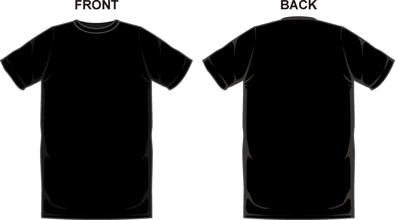 blank black t shirt front and back psd joy studio design