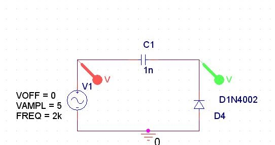 signals and systems  clamper circuit