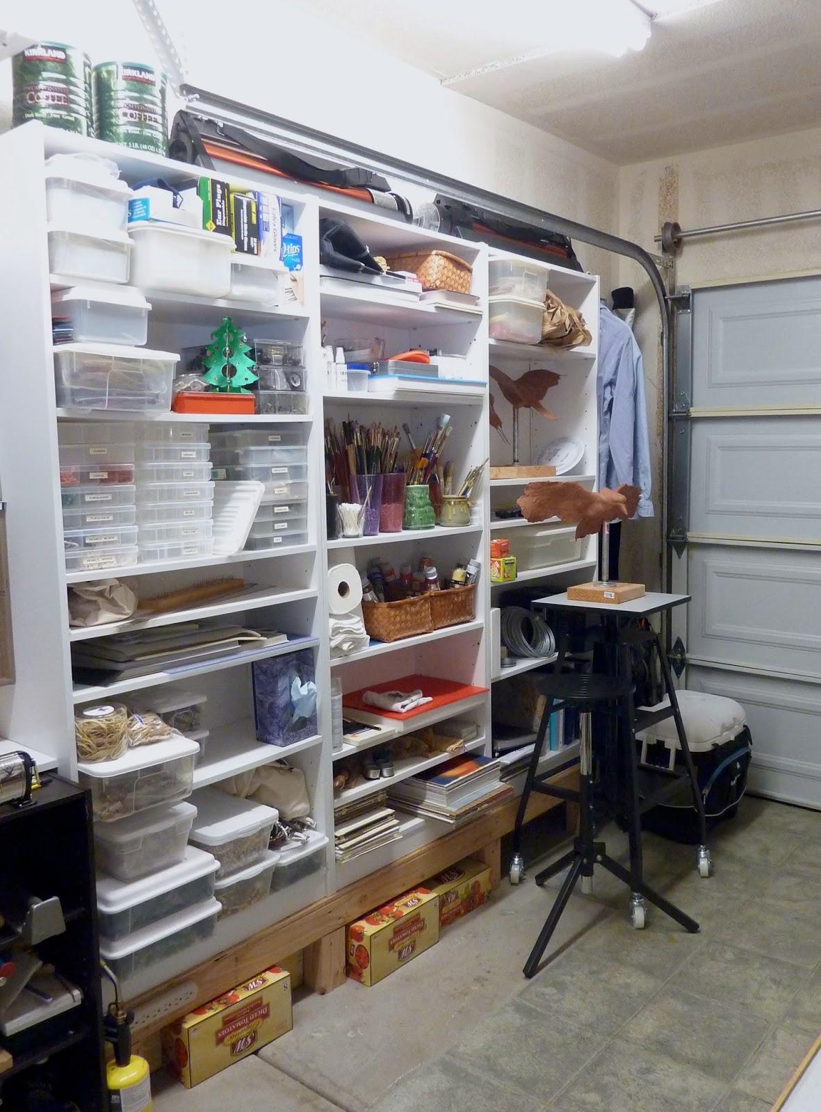 Converting garage into a studio