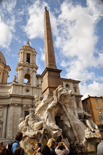 Fountain of Four Rivers at Piazza Navona