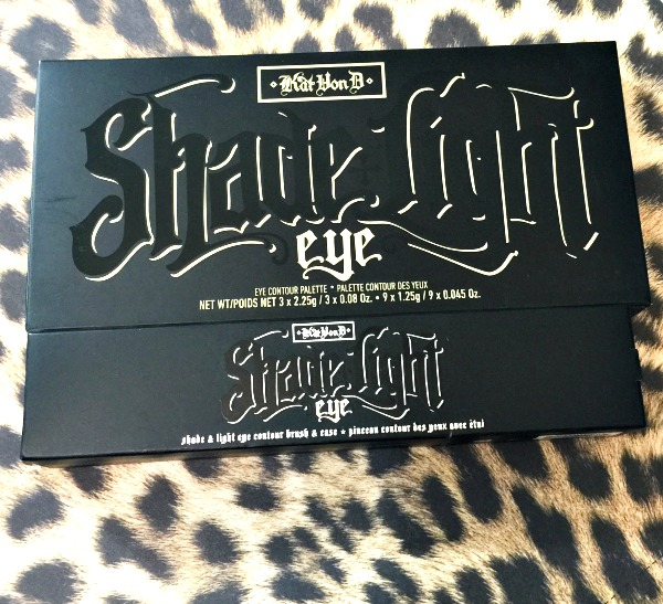 katvond beauty shade and light eye palette