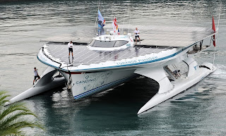 first solar boat , top ten facts about solar power