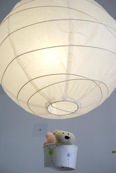 a zonzo per idee  Lampade mongolfiera per il bimbo -> Lampadari Bambini Mongolfiera