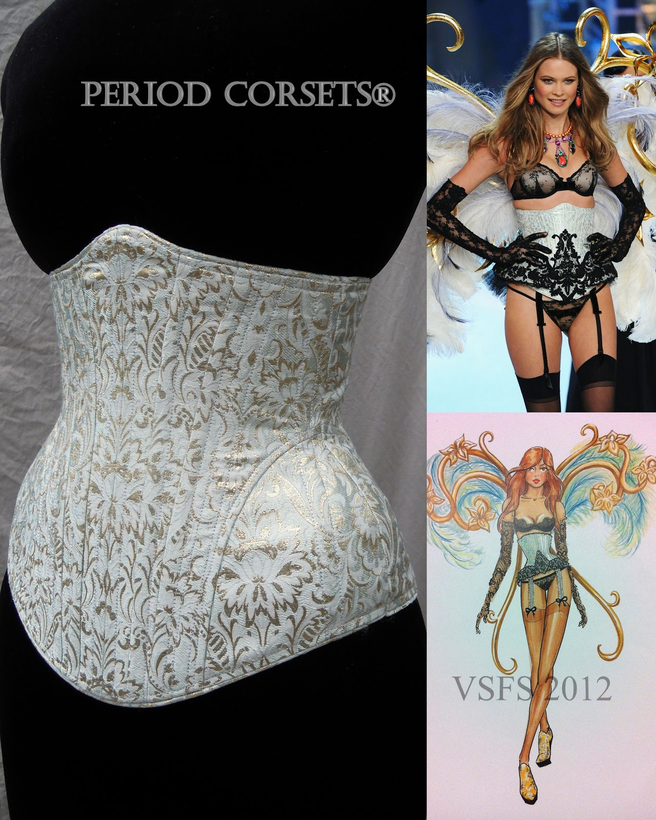 Period Corsets: Victoria's Secret Fashion Show 2012 Corsets made ...